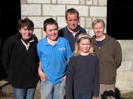 Mackley Family - Sarah-Joseph-Edward-Mary